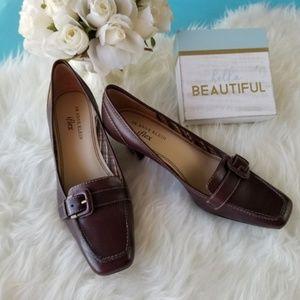 Anne Klein iFlex Falco buckled heels